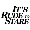 It's Rude To Stare logo icon