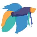 Japanese Fighting Fish logo icon