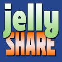 Jelly Share logo icon