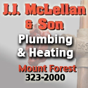 JJ McLellan and Son Plumbing and Heating logo