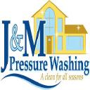J & M Pressure Washing logo