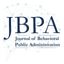 Journal of Behavioral Public Administration logo