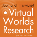 The Journal of Virtual Worlds Research logo
