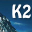 K2e logo icon