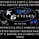 K And G Cycles logo icon