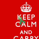 Keep Calm And Carry On logo icon