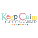 Keep Calm Get Organised logo icon