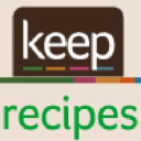 Keep Recipes logo icon