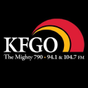 The Mighty 790 Kfgo logo icon