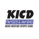 Kicd Am 1240 logo icon