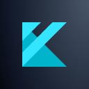 Kickfin logo icon