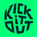 Kick It Out logo icon