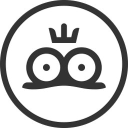 Kiss The Frog logo icon