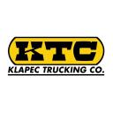 Klapec Trucking Company logo