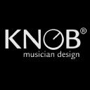 Knob Musician Design logo icon