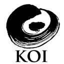 Koi Restaurant logo icon
