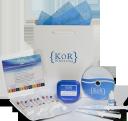 Kör Whitening logo icon