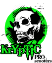 Kryptic Pro Scooters logo icon
