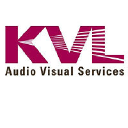 KVL Audio Visual Services Company Logo