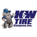 K&W Tire Company logo