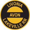 Livonia , Avon & Lakeville Railroad Corp. logo