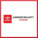 Landers McLarty Toyota logo