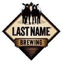 LAST NAME Brewing logo