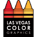 Las Vegas Color Graphics logo icon