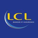 événement réalité virtuelle - Logo de l'entreprise LCL pour une préstation en réalité virtuelle avec la société TKorp, experte en réalité virtuelle, graffiti virtuel, et digitalisation des entreprises (développement et événementiel)
