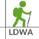 Long Distance Walkers Association logo icon
