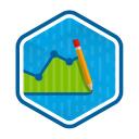 Learnmetrics logo icon