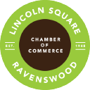 Lincoln Square Ravenswood Chamber Of Commerce, Il logo icon