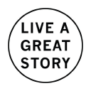 Live A Great Story logo icon