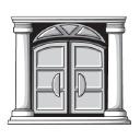 Luxury Homes logo icon