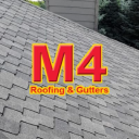 M4 Roofing & Gutters logo