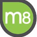 M8group logo icon