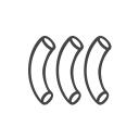 Macaroni logo icon
