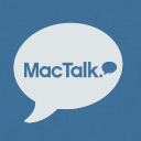 Mac Talk logo icon