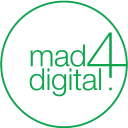 Mad4digital logo icon