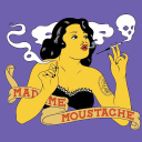 Madame Moustache logo icon