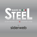 MADE IN STEEL - Steel Trade Fair: Conference & Exhibition - Milan 2015 logo