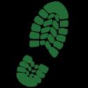 Adidas Outdoor logo icon