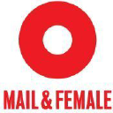 Mail & Female logo icon