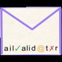 Mailvalidator.io | by Uschti Logo