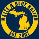 Maize And Blue Nation logo icon