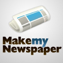 Make My Newspaper logo icon