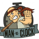 Man Vs Clock logo icon