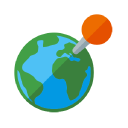Map Business Online logo icon