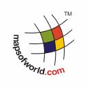 Mapsofworld logo icon