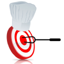 Marketing 4 Restaurants logo icon